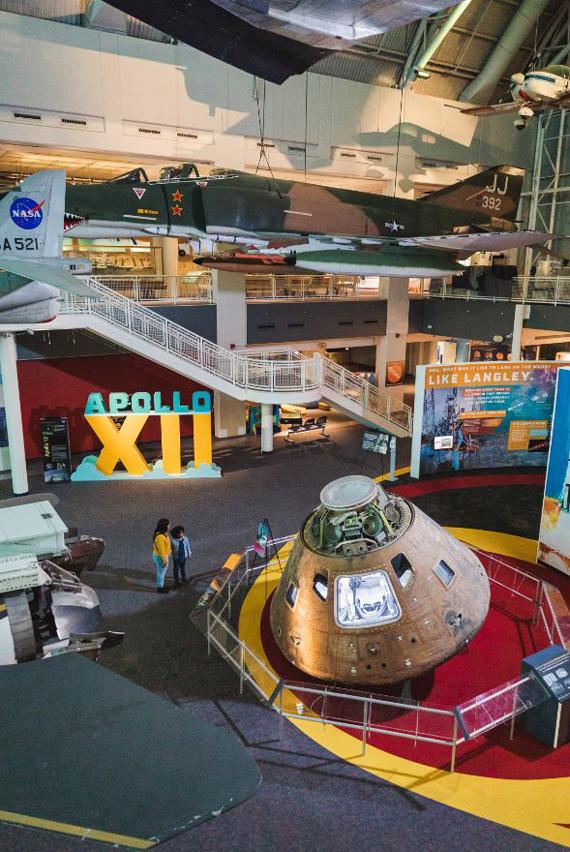 Apollo-12-Exhibit-at-VA-Air-and-Space-Center