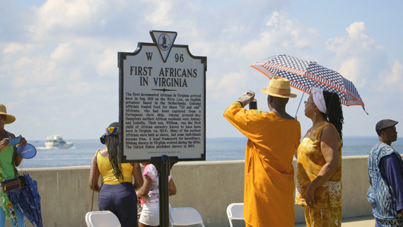First-African-Arrival-Marker-at-Fort-Monroe