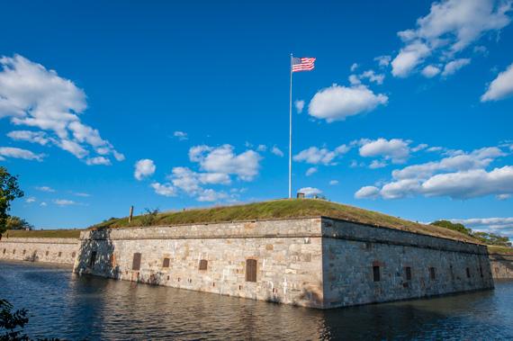 Fort-Monroe-Stone-Walls