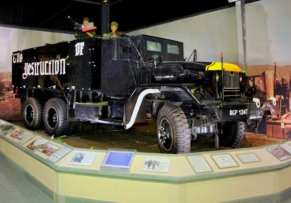 Vehicle-at-Army-Transportation-Museum